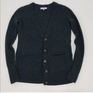 Madewell Cardigan Knit Merino Wool Sweater